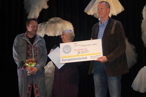 Soroptomisten halen 7.000 euro op