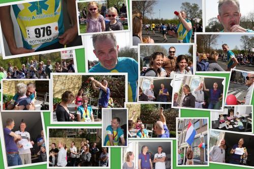 Victor liep de marathon, met een mooi resultaat!