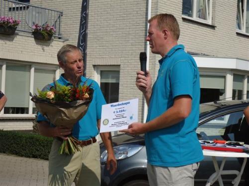 Cheque van Rotary Culemborg