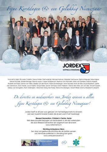 Kerst actie Jordex